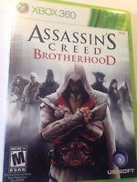 Shooter ASSASSIN'S CREED BROTHERHOOD XBOX 360 MICROSOFT US Seller Free Shipping