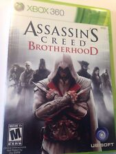 Shooter ASSASSIN'S CREED BROTHERHOOD XBOX 360 MICROSOFT US Seller Free Shipping