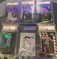 nba mystery pack Guaranteed Graded Card Plus, Prizm, Optic