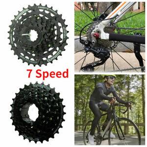 7fach MTB Fahrrad Kassette Zahnkranz Ritzelpaket 12-28T/12-32T Zähne Ritzelblock