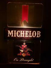 Vintage Michelob Beer Lighted Bar Pub Tavern Sign Good Condition