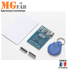 Module RFID RC-522 13.56 Mhz lecture écriture + 2 TAGS | Arduino RC522 SPI DIY