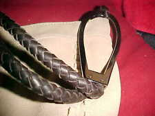 NWOT Anne Klein NY handbag - BEIGE CALF LEATHER (13'' by 8''), NEVER USED   828