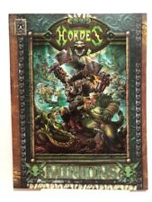 HORDES - Minions RPG Guide (2010, Privateer Press, Softcover) NEW Unread