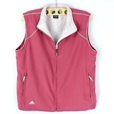 Adidas ClimaProof Vest Size Large Sleeveless Zip Up Golf Windbreaker Mesh Lined