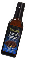 Hickory Liquid Smoke Sauce, Flavor For Beef, Pork, Fish, Bbq, Barbecue, 3.5oz