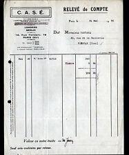 """PARIS (XV°) MOTEURS ELECTRIQUES Sutra """"C.A.S.E."""" 1930"""