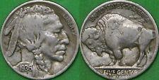1936 US (S Mint) Buffalo Nickel Graded as Fine