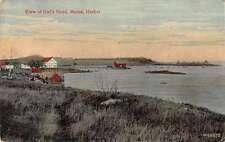 Owls Head Maine Harbour View Scenic View Antique Postcard J48834