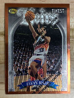 Steve Nash RC Topps Finest Heirs #217 w/ Coating Suns Rookie