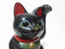 Japanese Japan,Beckoning cat, Maneki Neko,amulet, pottery Piggy bank 19cm