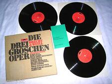 3er LP Box James Last Die Dreigroschenoper - Karin Baal Degenhardt Hans Clarin