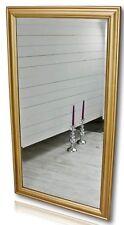 Espejo 132 de Pared Pie Oro Madera Casa Campo Marco Baño
