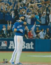 Jose Bautista Toronto Blue Jays UNSIGNED 8x10 Photo Bat Flip