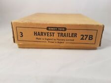 Dinky 27B Harvest Trailer Trade Box