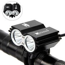 SolarStorm 6000Lumen 2x  XM-L T6 LED bicicletas Frente lámpara bici Faro Luz