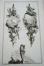 EAU FORTE JEAN CHARLES DELAFOSSE-VOYSARD AMBITION DISCORDE-TROPHEES 1772