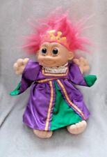 "Rare - Russ Berrie & Co Troll - Princess Troll Plush Toy / Teddy - 13"" Tall"