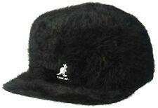 Kangol Furgora Links Black Angora Trucker  Baseball Cap Hat NWT Medium m