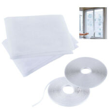 2 Packs Window Mesh Door Curtain Snap Net Guard Mosquito Fly Bug Insect Screen