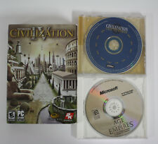 PC GAME Lot Civilization IV -Civilization Call To Power - Age Of Empires