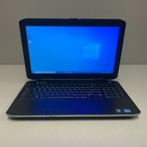 """Dell Latitude E5530 15"""" Laptop Core i5-2520M 2.50GHz 4GB RAM 320GB HDD Win10"""