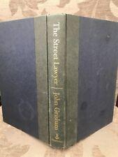 JOHN GRISHAM; The Street Lawyer - 1998-1st US Edition - Legal Crime Thriller, HB