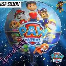 """XL Pack Paw Patrol 18"""" Nickelodeon Mylar Balloon Red Chase & Marshall Balloons"""