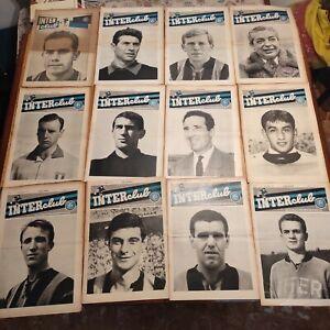 Anno 1 Inter Club 1962 Calcio numero 1 introvabile InterClub tifosi rivista