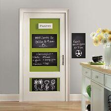 Chalkboard Peel & Stick Wall Decals Bedroom Dorm Room or Kitchen 4 Stickers NEW