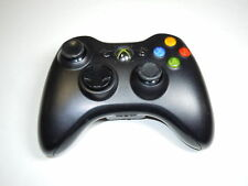 Microsoft Xbox 360 Glossy Black Wireless Controller [Mushy Bumpers]
