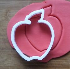 Apple Fruit Shape Cookie Cutter Biscuit Pastry Fondant Sharp Food Plant