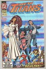 New Titans #100 August 1993 Fn Prism Cover