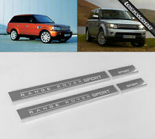 Range Rover Sport (2005 - 2013) Stainless Steel Sill Protectors / Kick Plates