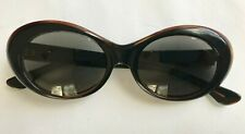 Vintage American Optical BEWARE Sunglasses AO 118 Retro Black Brown Frames Only