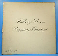 ROLLING STONES BEGGARS BANQUET LP 1968 ORIGINAL PRESS NICE CONDITION! VG/VG!!C