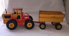 Tonka Farm Master Tractor And Grain Wagon 1970's Vintage