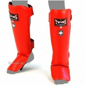 Twins Special Competition Shin Guards SGL3 Competition Muay Thai MMA Kick boxing