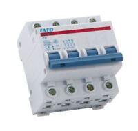 Interruttore magnetotermico 4P - C6