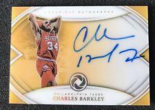 CHARLES BARKLEY 2018-19 PANINI OPULENCE LUXURIOUS AUTO 1/15 AUTOGRAPH SIXERS