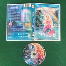 (DVD) BARBIE FAIRYTOPIA MERMAIDIA Universal Film (2006) Spedizione GRATIS !!!