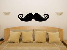 bigote Cuarto De Estar Comedor Infantil Adhesivo para dormitorio pared imagen 1