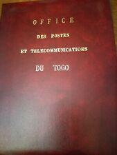 Togo Classificatore MNH serie cpl.