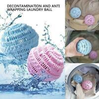 Wäschereinigungsball Waschmaschinenball für Waschanionenmoleküle Pretty Z1W9