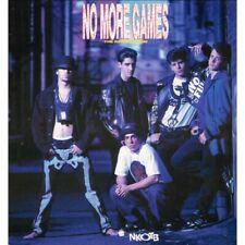 New Kids On The Block NKOTB, No More Games-Remix (HOL 1990 CBS 4674941) LP NM