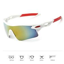 Sport Sonnenbrille Radfahrerbrille Sportbrille Rennrad Triathlon Brille X1 weiß