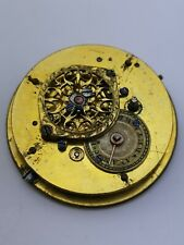 Nice Quality Working French Verge Pocket Watch Movement (A75)