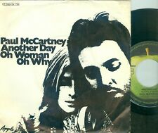 "PAUL McCARTNEY (BEATLES) ANOTHER DAY (GERMAN APPLE ) 7""PS   1971"