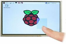 "7"" TFT LCD Touchscreen For Raspberry Pi, HDMi/VGA, 12V, UK"