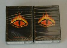 2 X LIMITED EDITION Middle Earth the Wizards Sealed Starter Decks METW CCG   A